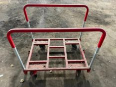 """(5) 36"""" MEDIUM DUTY PANEL CARTS. LOCATION: 650 EAST TAYLOR STREET THIS LOT IS: SOLD BY THE PIECE QTY"""