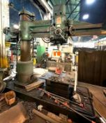 DESCRIPTION CARLTON INDUSTRIAL RADIAL DRILL ADDITIONAL INFO SEE PHOTOS FOR MORE DETAIL LOADING THERE