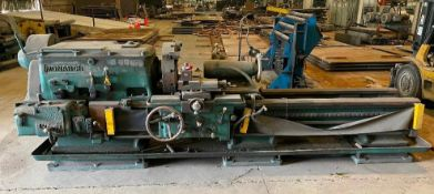 """MONARCH 24N INDUSTRIAL LATHE BRAND / MODEL: MONARCH 24"""" N ADDITIONAL INFORMATION Swing Over Bed: 27-"""