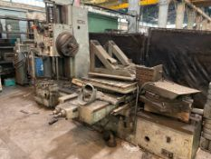 UNION BFT 80/20 HORIZONTAL BORING MILL BRAND / MODEL: UNION BFT 80/2 LOADING THERE IS A 20 TON GANTR
