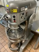 DESCRIPTION: HOBART P660 MIXER W/ BOWL, HOOK, PADDLE, AND DOLLY. BRAND / MODEL: HOBART P660 ADDITION