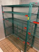 """DESCRIPTION: 5' X 24"""" FIVE TIER COATED WIRE SHELF ADDITIONAL INFORMATION NO CONTENTS INCLUDED BCL CA"""