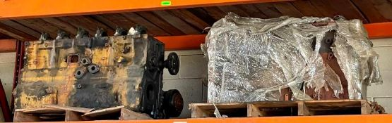 (2) HEAVY DUTY MACHINERY ENGINES ADDITIONAL INFO SEE PHOTOS FOR MORE DETAIL LOCATION WAREHOUSE THIS