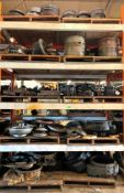 ASSORTED HEAVY DUTY MACHINERY PARTS AS SHOWN ADDITIONAL INFO SEE PHOTOS FOR MORE DETAIL LOCATION PAR