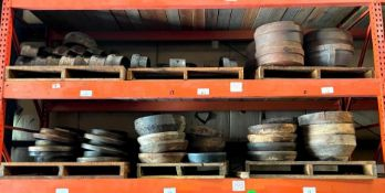 ASSORTED WHEEL CAPS HAND OTHER HEAVY DUTY MACHINERY PARTS ADDITIONAL INFO SEE PHOTOS FOR MORE DETAIL