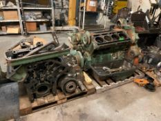 (2) ENGINES AS SHOWN ADDITIONAL INFO NOT IN WORKING CONDITION LOCATION PARTS ROOM THIS LOT IS ONE MO