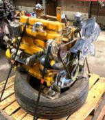 JOHN DEERE ENGINE WITH PARTS ADDITIONAL INFO SEE PHOTOS FOR MORE DETAIL LOCATION PARTS ROOM QUANTITY