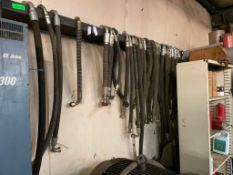 ASSORTED HOSES AS SHOWN LOCATION PARTS ROOM THIS LOT IS ONE MONEY QUANTITY: X BID 1