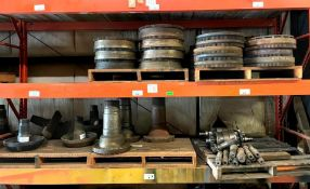 ASSORTED SPINDLES AND OTHER HEAVY DUTY MACHINERY PARTS ADDITIONAL INFO SEE PHOTOS FOR MORE DETAIL LO