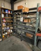 (3) SHELVING UNITS WITH ASSORTED CHEMICALS AS SHOWN ADDITIONAL INFO SEE PHOTOS FOR MORE DETAIL LOCAT