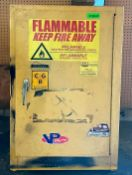 """FLAMMABLE CHEMICAL CABINET SIZE 24""""X18""""X36"""" LOCATION PARTS ROOM QUANTITY: X BID 1"""