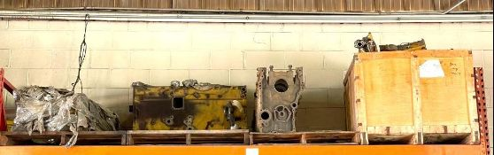 ASSORTED HEAVY DUTY MACHINERY PARTS AS SHOWN ADDITIONAL INFO SEE PHOTOS FOR MORE DETAIL LOCATION WAR