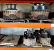 ASSORTED WHEEL ENDS AND OTHER HEAVY DUTY MACHINERY PARTS ADDITIONAL INFO SEE PHOTOS FOR MORE DETAIL