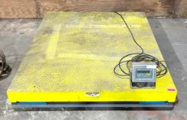 DESCRIPTION WEIGH-TRONIX 10,000 LBS CAPACITY FLOOR SCALE BRAND/MODEL WEIGH-TRONIX DS7260-10 ADDITION
