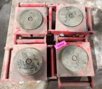 DESCRIPTION AUTO TIRE DOLLY (4 PACK) THIS LOT IS ONE MONEY QUANTITY 1