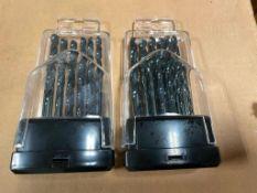 DESCRIPTION: (3) CASES OF 10 PC DRILL BIT SETS W/ PLASTIC CASE. 60 PER CASE, 180 TOTAL BRAND / MODEL