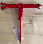 DESCRIPTION: (2) CASES OF HD JAW BOLT RATCHET LOAD BINDERS - RED. 5 PER CASE, 10 IN LOT TOTAL. BRAND