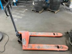 DESCRIPTION: 4400 LB. CAPACITY PALLET JACK. ADDITIONAL INFORMATION IN WORKING ORDER QTY: 1