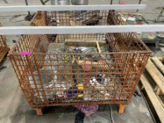 """DESCRIPTION: (3) 48"""" X 48"""" WIRE GRID GAYLORD PALLETS THIS LOT IS: ONE MONEY QTY: 1"""