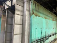 DESCRIPTION: 30' X 20' METAL OVEN BOX. SIDE PANELING SOLD FOR SALVAGE METAL. ADDITIONAL INFORMATION