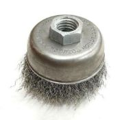 """DESCRIPTION: (1) CASES OF 3"""" WIRE CUP BRUSHES. 100 PIECE IN CASE. BRAND / MODEL: 88095 ADDITIONAL IN"""