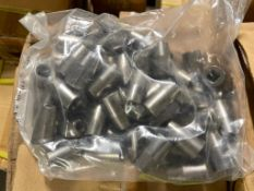 """DESCRIPTION: (3) CASES OF 1/4"""" X 3/8"""" BIT HOLDERS. 800 PER CASE, 2400 IN LOT THIS LOT IS: ONE MONEY"""