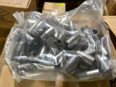 """DESCRIPTION: (5) CASES OF 1/4"""" X 3/8"""" BIT HOLDERS. 800 PER CASE, 4000 IN LOT THIS LOT IS: ONE MONEY"""
