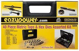 DESCRIPTION: (1) CASE OF 40 PIECE METRIC TAP AND HEX DYES. 20 PER CASE BRAND / MODEL: 82506 ADDITION