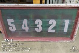 (21) 42 x 20 Aluminum screens