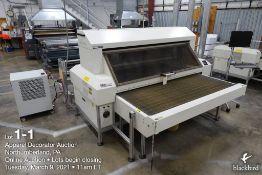 CadCam Technology laser cutter model FB-18-100, SN 090117 FB37176, 100 watt Rofin water cooled
