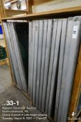 (20) 42 x 20 Aluminum screens