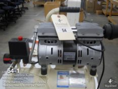 Outstanding oil free air compressor model OLF-550-4, 220 volt