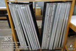 (22) 42 x 20 Aluminum screens