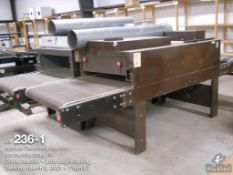 Large lot of parts machines and equipment including conveyor dryers, infrared dryers,