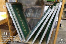 (24) 42 x 20 Aluminum screens