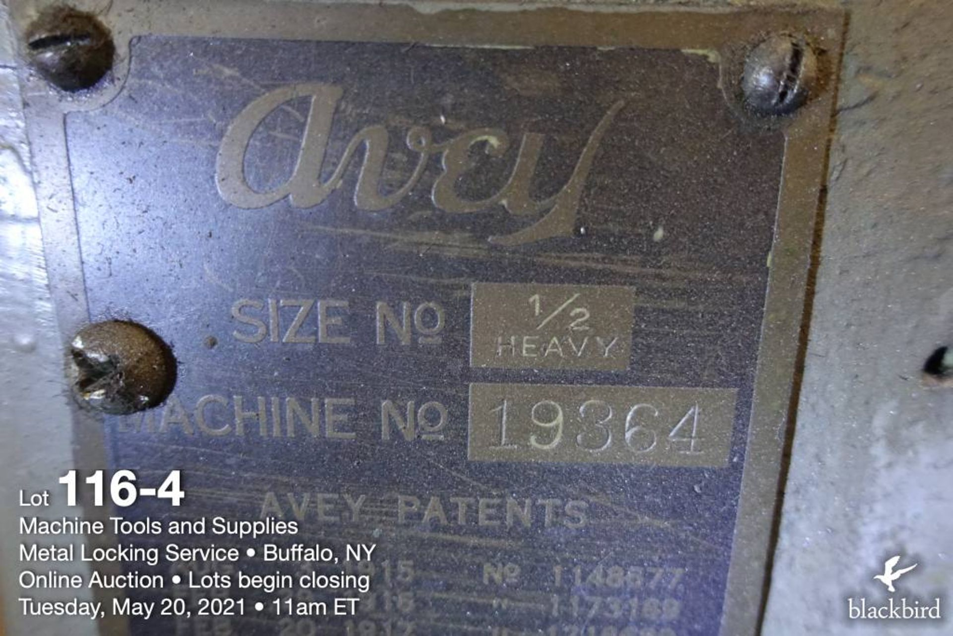 Avey twin spindle drill press, M 1/2 heavy - Image 5 of 5