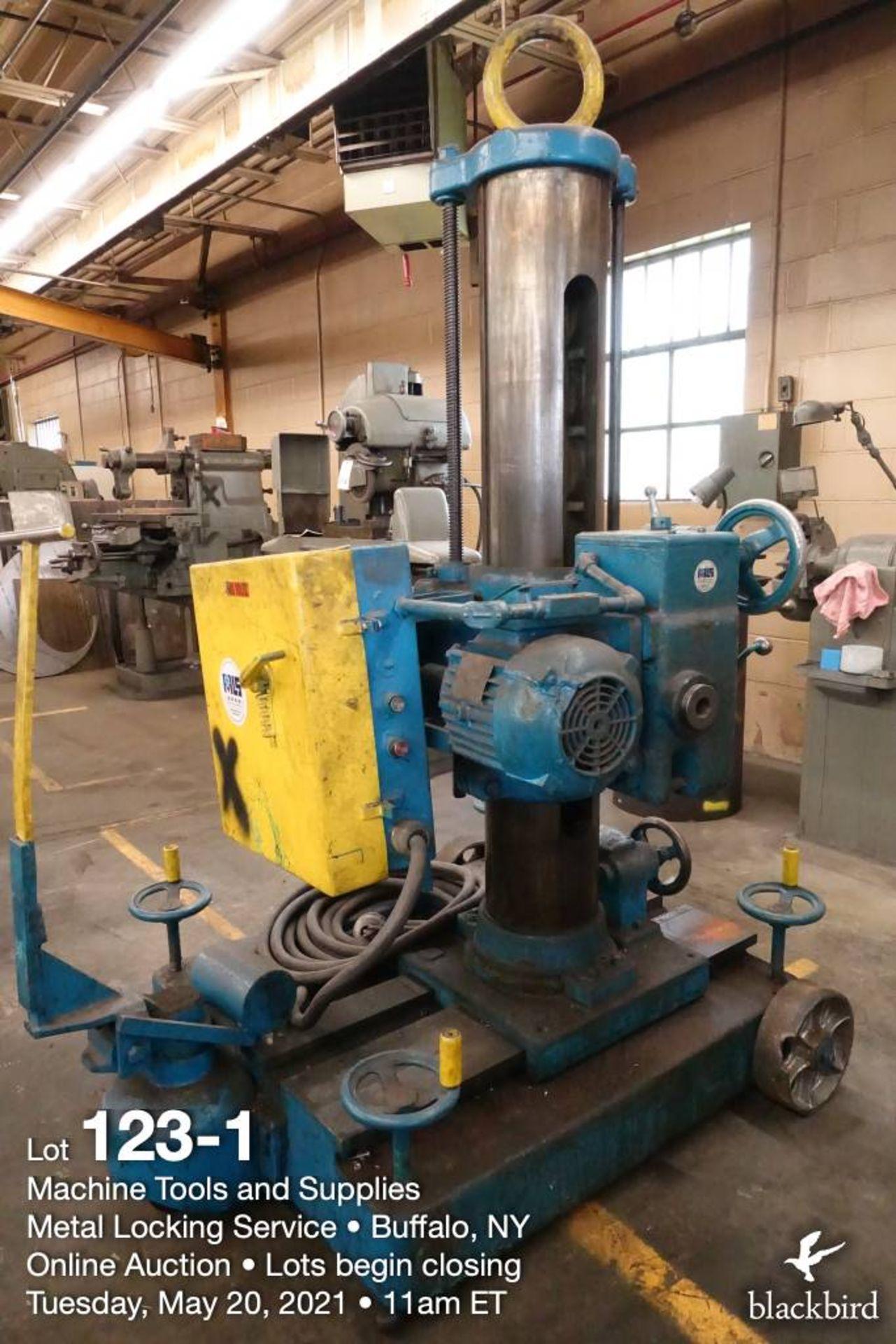 Cincinnati Bickford Super Service portable horizontal drilling machine - Image 2 of 7
