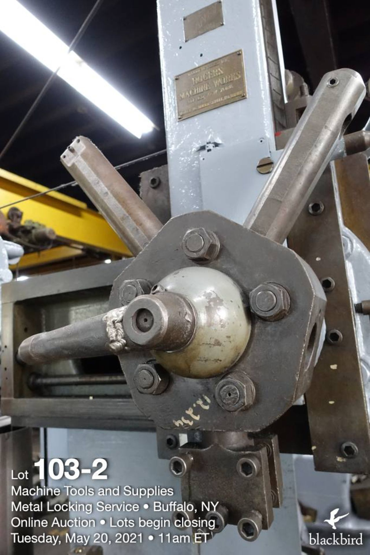 """Rogers IT 36, 36"""" vertical boring mill - Image 3 of 5"""