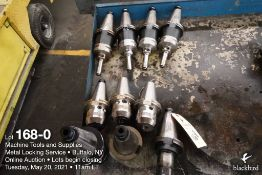 Lot of (10) misc. tool holders as photographed
