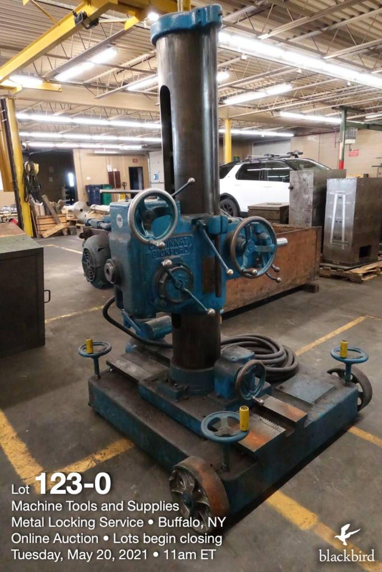 Cincinnati Bickford Super Service portable horizontal drilling machine