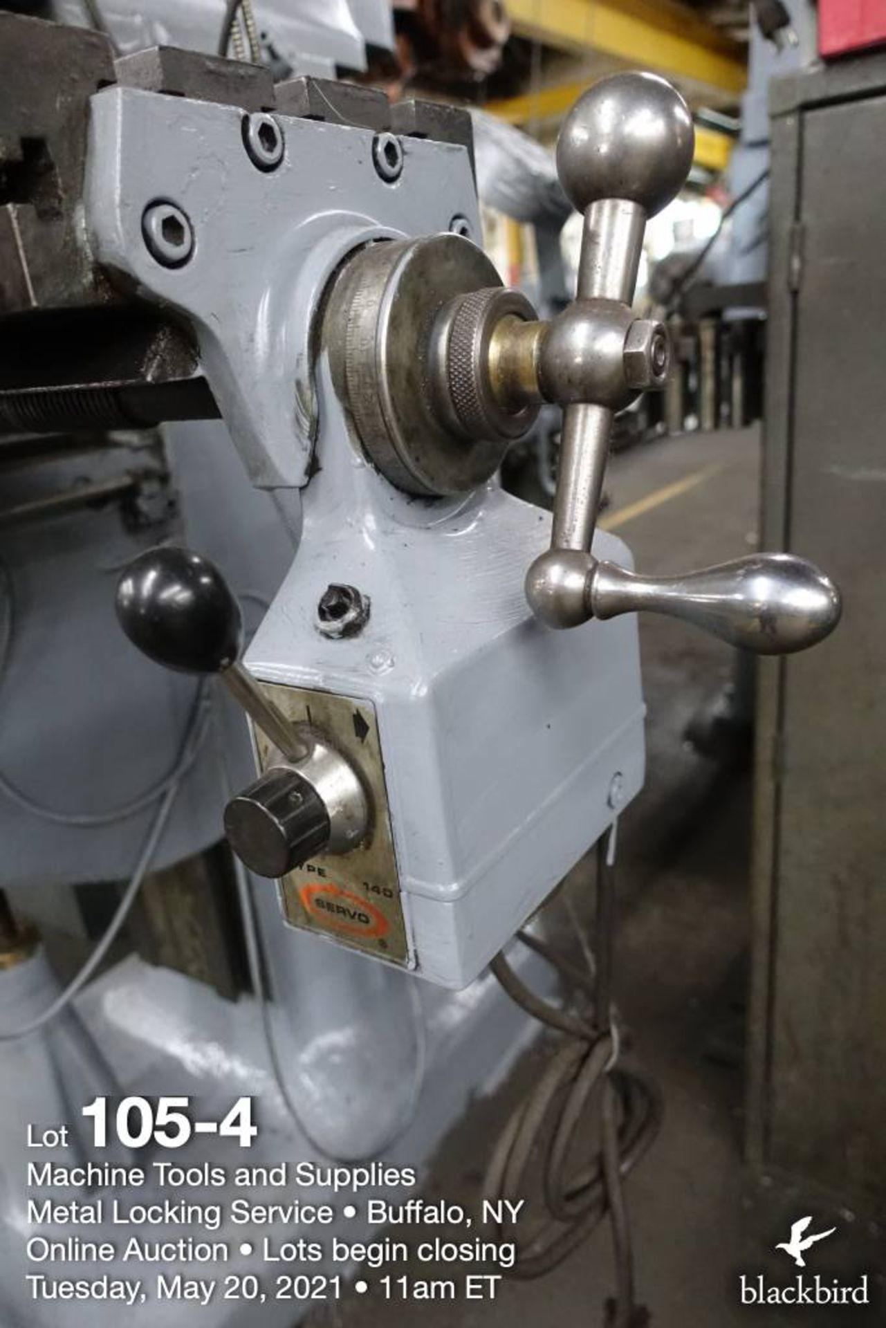 Bridgeport series I vertical milling machine - Image 5 of 6