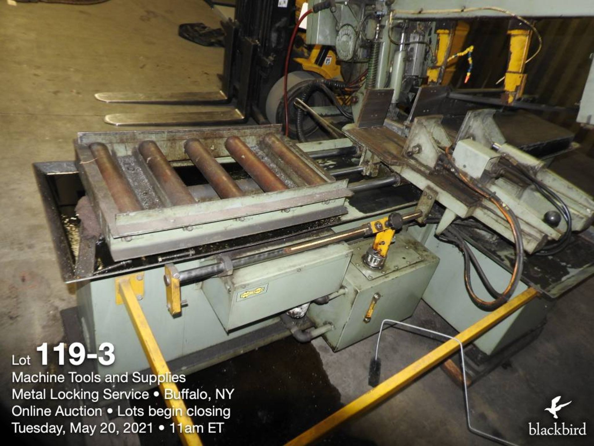 HYD-MECH S-20A band saw, 240V - Image 4 of 5