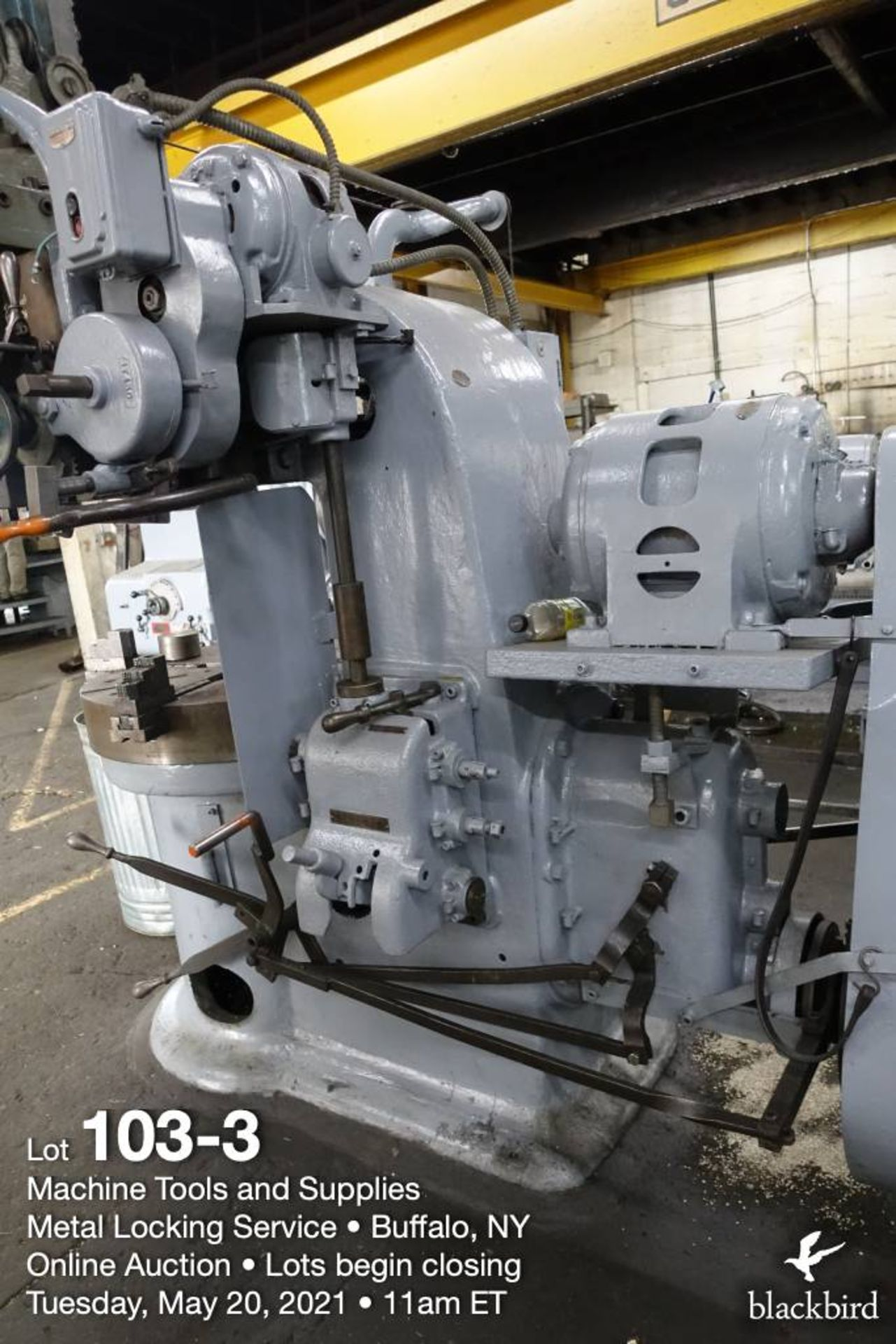 """Rogers IT 36, 36"""" vertical boring mill - Image 4 of 5"""