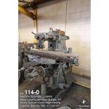 Milwaukee horizontal mill #2