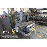 Milwaukee K #2 horizontal milling machine