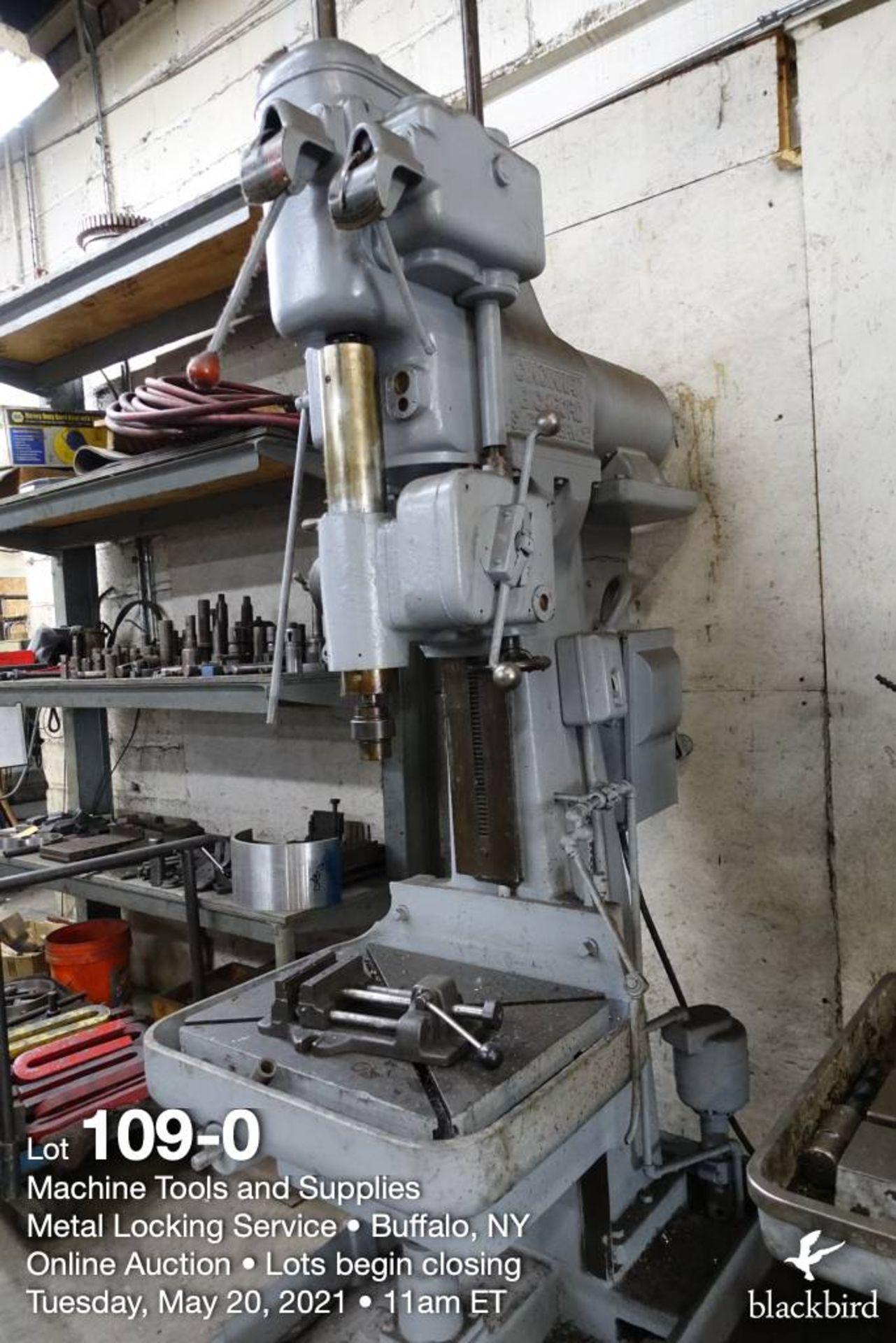 Cincinnati Bickford Super Serve drill press
