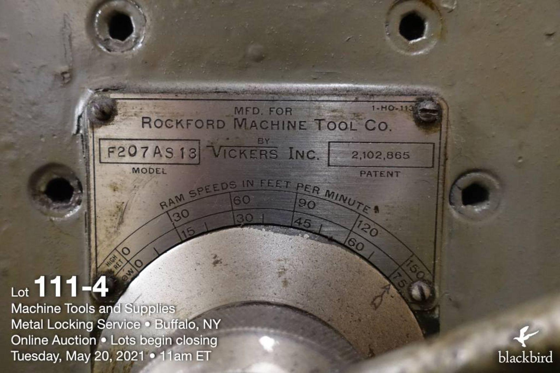 "Rockford F207AS13 28"" shaper model - Image 5 of 5"