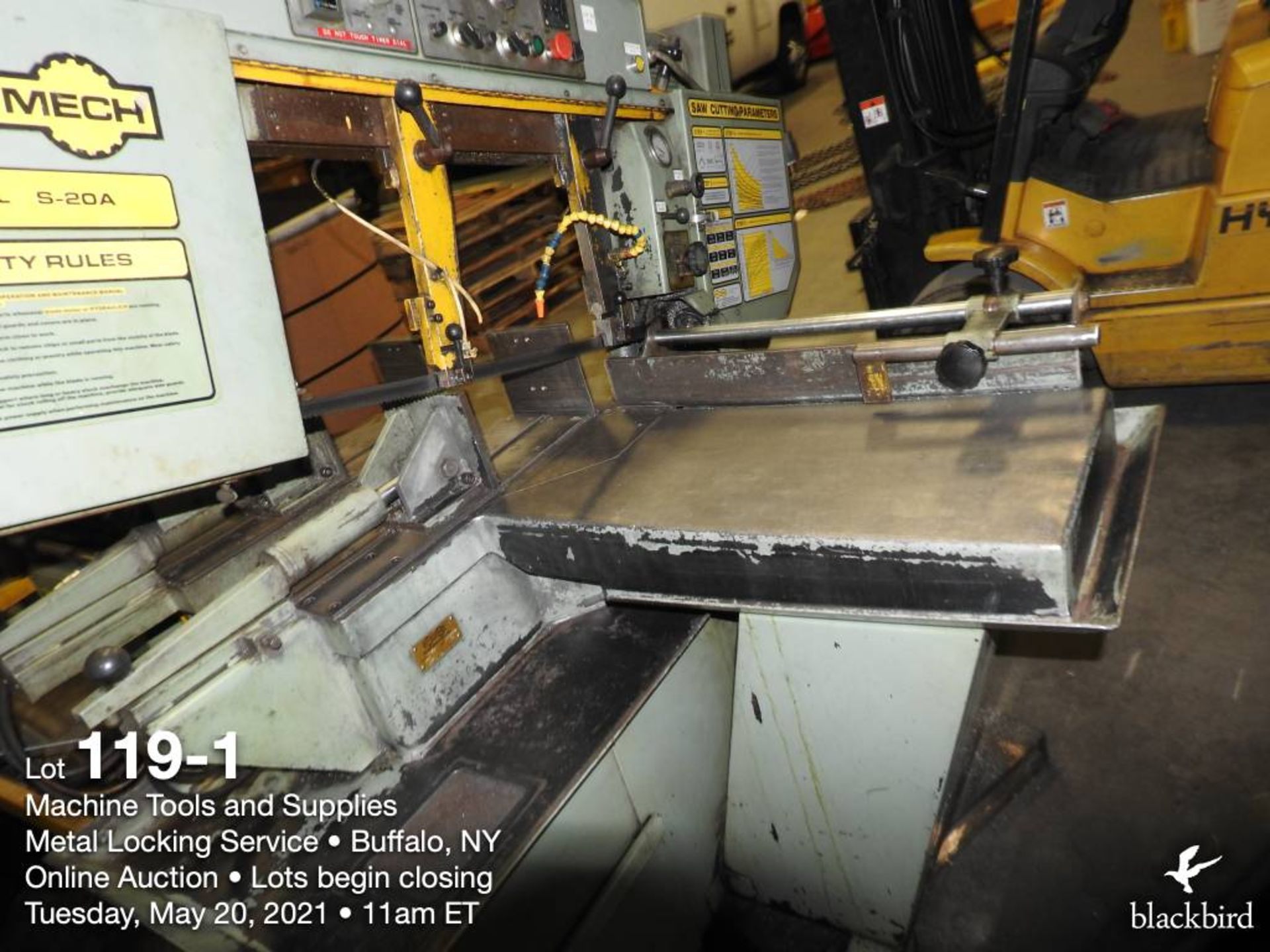 HYD-MECH S-20A band saw, 240V - Image 2 of 5