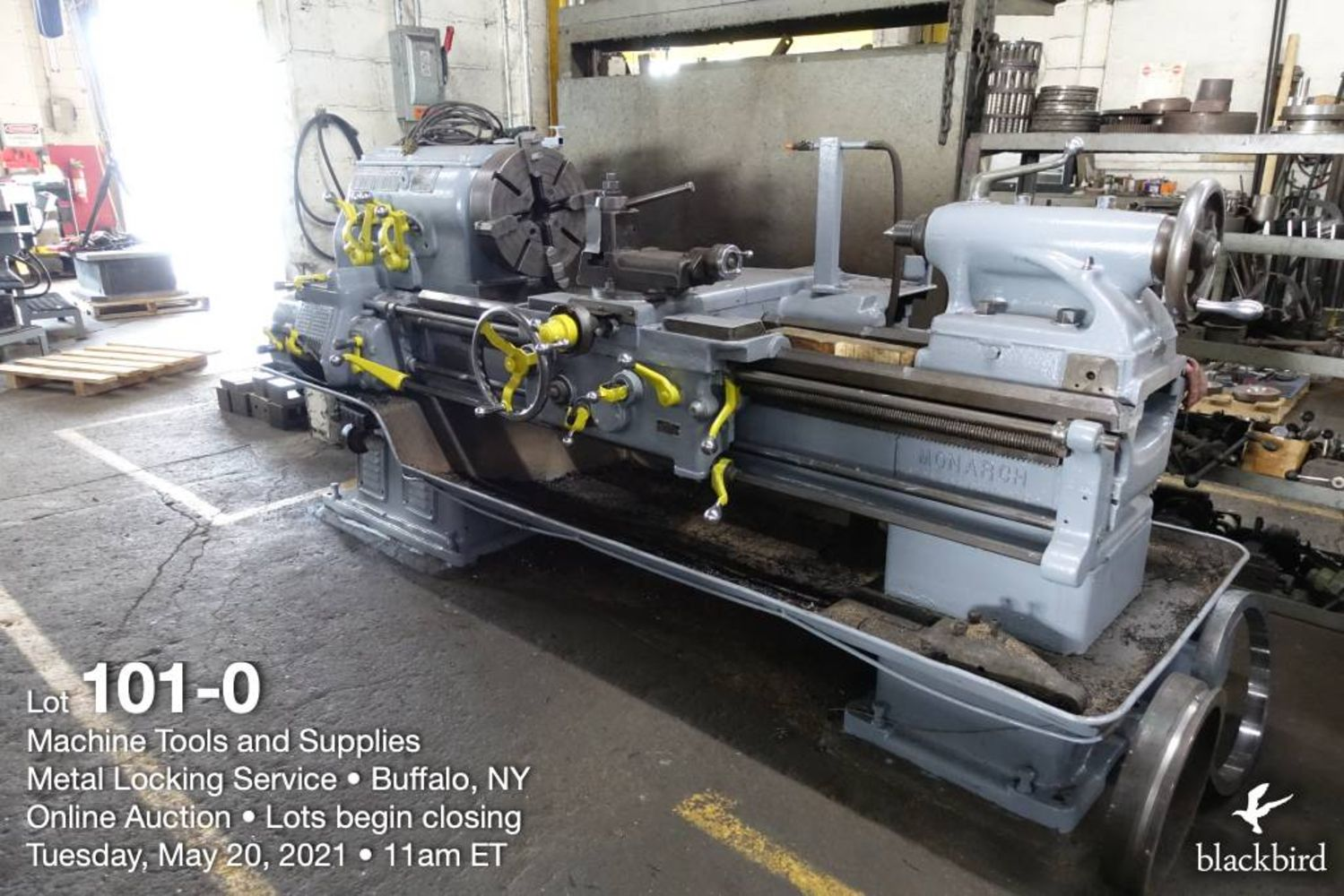 Machine Tools and Tooling - Surplus to Ongoing Operations of Metal Locking Services - Buffalo, NY