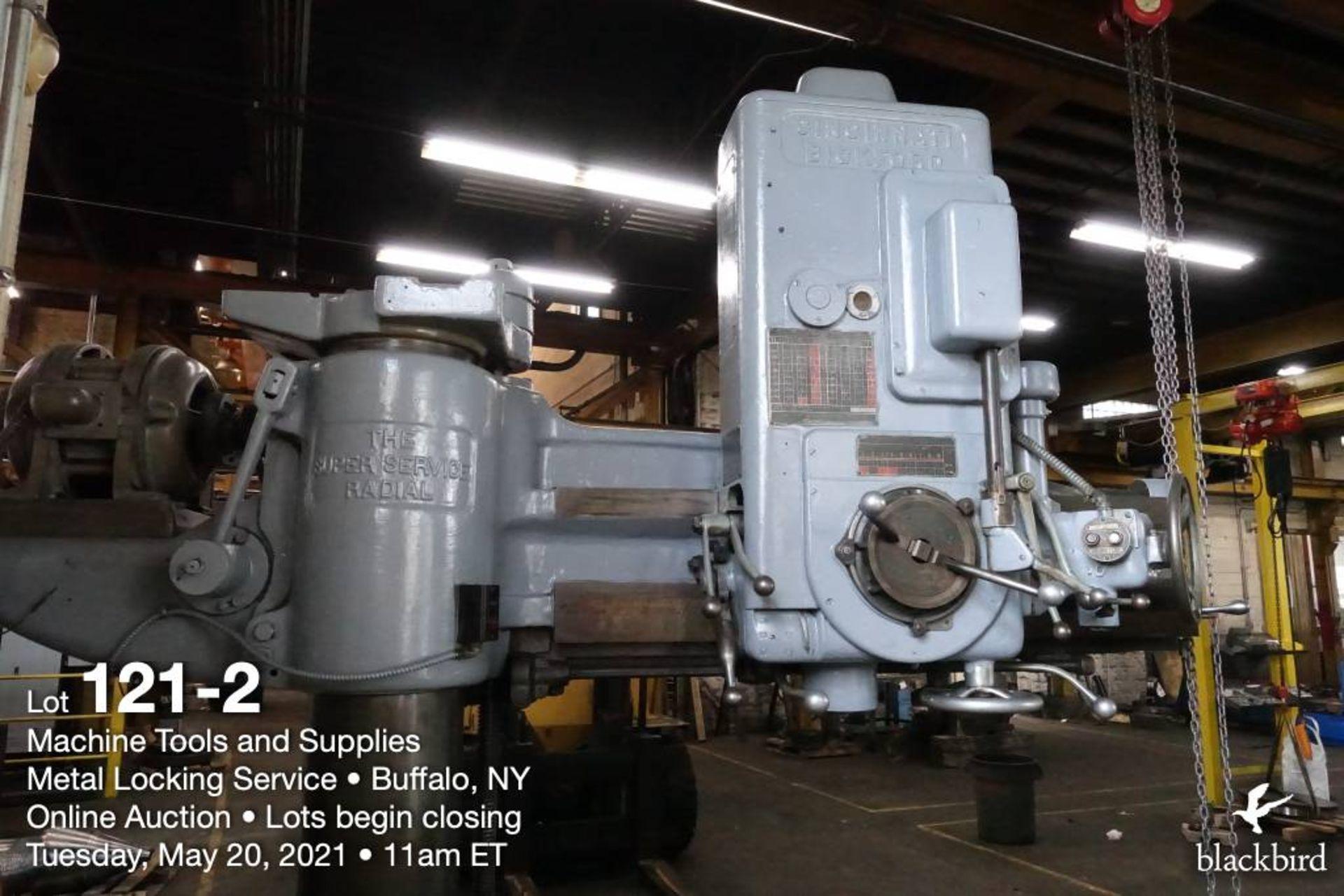 Cincinnati Bickford Super Service radial drill - Image 2 of 6